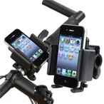 B061_TKG』携帯 スマホ iphone iPodに!★マルチ自転車ホルダー!幅広いモデルに対応可、取付け簡単、工具不要!