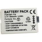 残量表示可! キャノン BP-110互換バッテリー、iVIS HF R21 対応