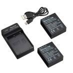 KeyW: デジタル カメラ バッテリー 充電器 BCH-1 BCH1 BLH-1 BLH1 oly...