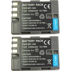 Yahoo!MIXY4TKG』 【2個セット】NP-150 富士フィルム互換バッテリーのお得な2個セット