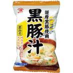 フリーズドライ 黒豚汁 10袋 【九州の麦みそ汁 具