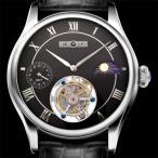 メモリジン(MEMORIGIN)トラベラーズ(Travelers)腕時計 メンズ MO0511-SSBKBKR 手巻き トゥールビヨン