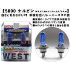5000ケルビンWEST H4U 12v 60 55wスーパーホワイトバルブWEST H4U
