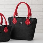SAVOY  サボイ デニムタテ型手提げバッグ / 40代 50代 60代 70代 ファッション シニア ミセス レディース 婦人 バッグ 鞄 トートバッグ