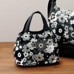 サボイ 花柄ハンドバッグ / 40代 50代 60代 70代 ファッション ミセス シニア レディース 婦人 バッグ かばん 鞄 人気 savoy