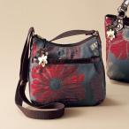 ソア・ソウル 花柄ショルダーバッグ  SOAR SOLe / 40代 50代 60代 70代 ミセス シニア レディース 婦人 バッグ 鞄 かばん 日本製 花モチーフ