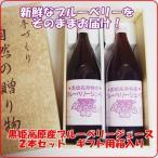 【ギフト】黒姫高原産ブルーベリージュース1000ml2本セット箱入り