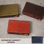 キャサリンハムネット 二つ折り財布 縦型 KATHARINE HAMNETT Taze 490-56004