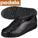 ショッピングウォーキングシューズ ペダラ ウォーキングシューズ 4E アシックス pedala レディース WPM466 90 ブラック 送料無料