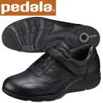 ショッピングウォーキングシューズ ペダラ ウォーキングシューズ アシックス pedala レディース WS367S 90 ブラック 送料無料