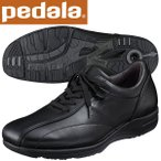 ショッピングウォーキングシューズ ペダラ ウォーキングシューズ 4E アシックス pedala WS405S 90 ブラック 送料無料