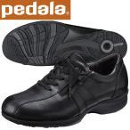 ショッピングウォーキングシューズ ペダラ ウォーキングシューズ 4E アシックス pedala レディース WS470S 90 ブラック 送料無料