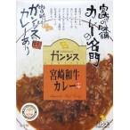 カレー ガンジス 宮崎和牛カレー 中辛 宮崎の味舗カレーの名門 味のガンジス:4582172470172