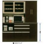 ショッピング食器 食器棚 引き戸 完成品 レンジ台 モイス 175cm幅 国産 開梱設置