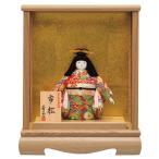 浮世人形 市松人形 雛人形 ひな人形 雛 一秀 木目込人形飾り ケース飾り O-2