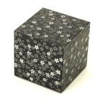4寸 三段 重箱 桜美(黒) 大型 弁当箱 おしゃれ 3段 お重箱 かわいい おせち 正月 花見