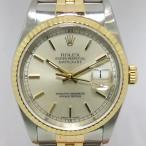 「質屋出店」「当店保証3年付」ロレックス デイトジャスト 16233 メンズ 時計「中古」