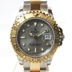 「質屋出店」「当店保証3年付」ロレックス ヨットマスター 69623 レディース 時計「中古」