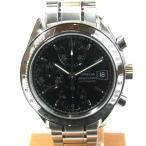「質屋出店」「当店保証1年付」オメガ スピードマスター デイト 3513.50 メンズ 時計「中古」