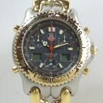 「質屋出店」「当店保証1年付」タグホイヤー アイルトン・セナモデル セルシリーズ プロフェッショナル S25.206 メンズ 時計「中古」