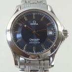 「質屋出店」「当店保証1年付」オメガ シーマスター120  2501.81 メンズ 時計「中古」
