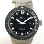 「質屋出店」「当店保証1年付」IWC GSTアクアタイマー IW353601 メンズ 時計「中古」