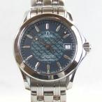「質屋出店」「当店保証1年付」オメガ シーマスター ジャックマイヨール 1997年 5000本限定 2500.80 メンズ 時計「中古」