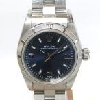 「質屋出店」「当店保証3年付」ロレックス オイスターパーペチュアル 76080 レディース 時計「中古」