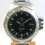 「質屋出店」「当店保証1年付」ボールウォッチ エンジニア ハイドロカーボン ディープクエスト DM3000A−SCJ−BK メンズ 時計「中古」