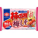 亀田の柿の種 梅しそ 6袋詰 182g 亀田製菓