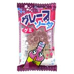 グレープソーダ グミ【やおきん】60個入り1パック