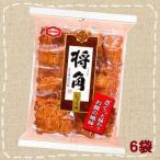 将角 しょうゆ 11枚×6袋【亀田製菓】