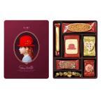 赤い帽子 パープル 122g クッキー詰合せギフト 缶入り チボリーナ 卸価格 お歳暮・お中元・ギフト