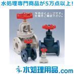 旭有機材工業 ストップバルブ U-PVC製 フランジ形 シート:EPDM 32A VSTMHUEF032