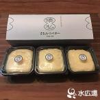 バター  さるふつバター 100gx3 産地直送 つくりたてを日本最北村から直送 注文殺到中につき発送は7月1日以降