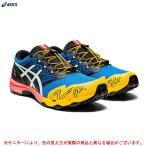 ASICS(アシックス)GEL-FujiTrabuco SKY(1011A900)ランニング ジョギング マラソン シューズ トレーニング メンズ