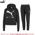 PUMA(プーマ)NU-TILITY フーディスウェット パンツ 上下セット(582780/582787)スポーツ トレーニング ランニング フィットネス フード付き レディース