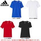 adidas(アディダス)JR BOYS テックフィット Tシャツ(BFN56)スポーツ インナーシャツ 半袖 ジュニア