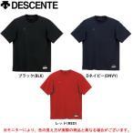 DESCENTE(デサント) ローネック 半袖アンダーシャツ(BU700) 野球 ソフトボール ベースボール 男性用 メンズ)