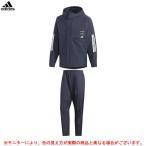 adidas(アディダス)M ID ウインドブレーカー ジャケット パンツ 上下セット(フード付き)(FYK51/FYK47)スポーツ セットアップ 防風 保温 裏起毛 メンズ