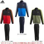 adidas(アディダス)ウーブン トラックスーツ(GOC57)スポーツ トレーニング セットアップ ウエア ピステ 裏メッシュ 上下セット ジュニア