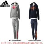 adidas(アディダス)43 BC 裏起毛スウェットプルオーバー パンツ 上下セット(MIA35/MIA36)NEO スポーツ レディース