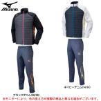 MIZUNO(ミズノ)テックフィルジャケット パンツ 上下セット(U2ME6502/U2MF6501)陸上競技 スポーツ 中綿 メンズ