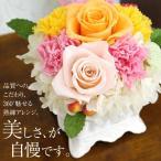 プリザーブドフラワー マダムローズ・ミニ 誕生日 フラワーバレンタイン 母の日 カーネーション 結婚祝い 結婚式 祝電 ギフト プレゼント 贈り物