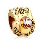 Yahoo! Yahoo!ショッピング(ヤフー ショッピング)チャーム ブレスレット バングル用 CharmSStory チャームズストーリー Baseball Mitten Love Sports Charm Beads Charmss For Bracelets