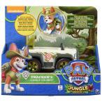 パウパトロール 犬のレスキュー隊 PAW Patrol フィギュア Paw Patrol, Jungle Rescue, Tracker's Jungle Cruiser, Vehicle and Figure
