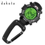 ショッピングダコタ Dakota ダコタ Watch Company デジタル クリップ 時計 8233-2 ・メンズ・レディース・ウォッチ・携帯・