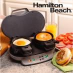 ハミルトン ビーチ Hamilton Beach 25490A サンドイッチ メーカー デュアル ブレイクファスト