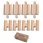 Orbrium Toys 8ピース ジョイントアダプター/トーマス/バリオ/チャギントン/電車 車 飾り棚 ディスプレイフレーム マグネット