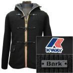 Bark×K・WAY メンズ リバーシブル ニット ダッフル&ナイロン ブルゾン[18006] 62K8109-369-BLACK